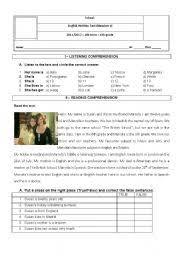 english teaching worksheets 6th grade