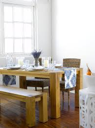 Big Wood Dining Table Dining Table With Bench Photos 1 Of 38
