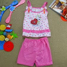 christmas clothing sets girls rose printed beach wear kids baby