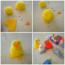 animalitos de primavera hechos en la casa con materiales de