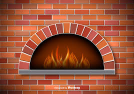 brick fireplace clipart clip art library