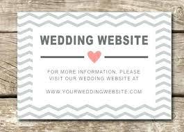 wedding registry templates registry inserts for wedding invitations wedding inserts in