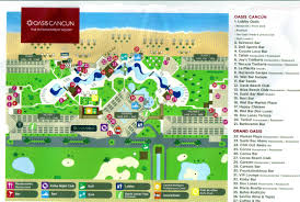 Cancun Mexico Map by Grand Oasis Cancun Travel By Bob