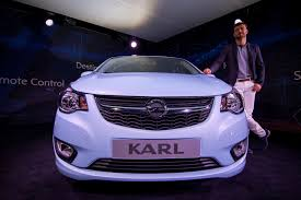 opel karl interior opel karl on display before official reveal