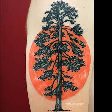 75 simple and easy pine tree tattoo designs u0026 meanings 2018