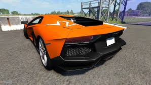 lamborghini veneno crash aventador for beamng drive