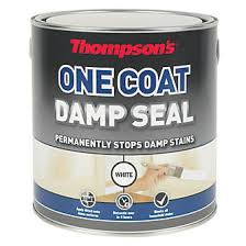 Sealant Paint For Damp Interior Walls Thompsons One Coat Damp Seal White 2 5ltr Specialist Paints