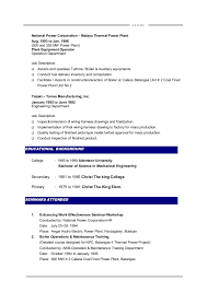 Example Resume For Maintenance Technician by Mechanical Maintenance Engineer Sample Resume 16 Mechanical