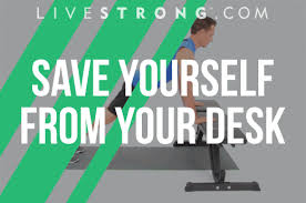 exercises to do at your desk 14 exercises to offset sitting all day livestrong com