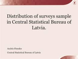 central statistical bureau ppt distribution of surveys sle in central statistical bureau