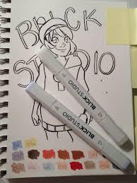 nattosoup studio art and process blog alcohol marker review