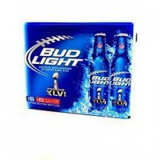 bud light 8 pack light 16oz 15 pack aluminum bottles