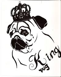pug coloring pages clipart best pug puppy coloring page pic pug
