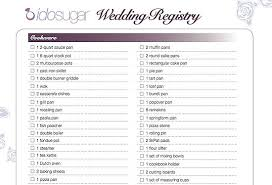 wedding registry idea kohls baby gift registry checklist the essential wedding registry