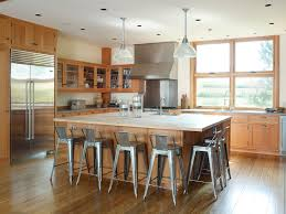 eat at island in kitchen stainless steel bar stools kitchen farmhouse with breakfast bar