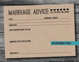 wedding advice cards wedding advice cards etsy