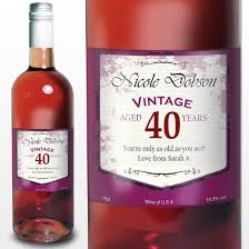 wine birthday gifts 40th birthday gifts for women find me a gift
