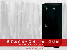 Stack On In Wall Gun Cabinet Stack On Gun Security Cabinets Geek Prepper