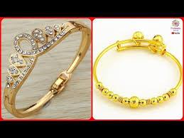 ladies gold bracelet design images Latest designer gold bracelet designs for girls women trendy jpg
