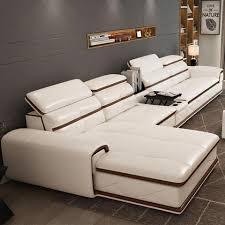 corner leather sofas luxury living room sofa burgurdy white