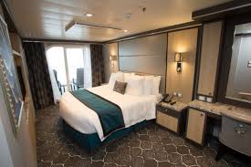 inside harmony of the seas cruisetotravel bedroom in the royal family suite harmony