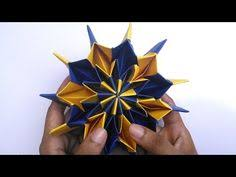 Origami Paper Works - origami paper works flower cube works 03