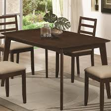 mulligan dining table with hidden pull out drawers coaster 104961