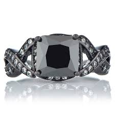 Black Diamond Wedding Ring Sets by Luxurious Marriage With Black Diamond Wedding Ring Sets