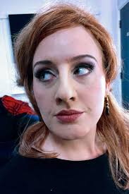 behind the make up adele as jenny the impersonator make up