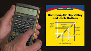 Hip And Valley Roof Calculator Construction Master 5 Metric Rafter Calculations How To Youtube