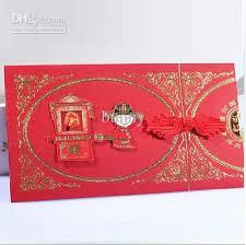 Red Wedding Invitations Chinese Invitation Cards Red Wedding Invitations With Envelope Fff