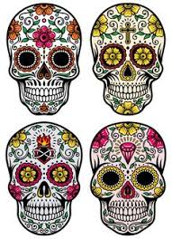 Day Of The Dead Masks Day Of The Dead Vector Illustration Set Download From Over 26