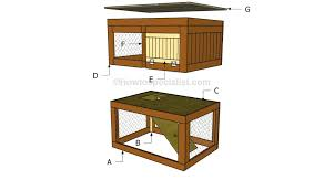 Build A Hutch How To Build A Rabbit Hutch Step By Step Howtospecialist How