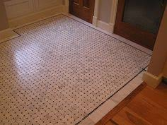 basketweave with black dot floor search bathrooms