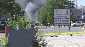 Car Interior Smoke Bomb Several Dead After Car Bomb Goes Off At German Embassy In Kabul