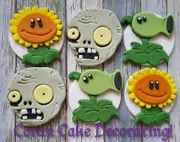 Plants Vs Zombies Decorations The 25 Best Zombie Cupcakes Ideas On Pinterest Diy Zombie Party