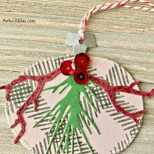to make easy and paper ornaments