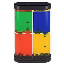 Motion Desk 4 Color Box Liquid Motion Desk Toy Findgift Com