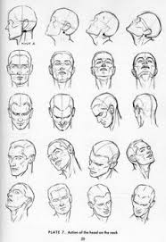 how to draw comics how to draw male heads 3 4 angle more