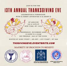annual armenian thanksgiving fundraiser