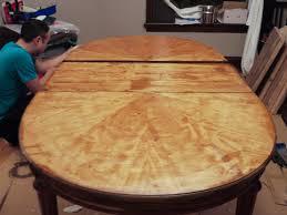 laminate table top refinishing best refinishing veneer table top f93 in wonderful home interior