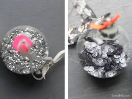 neon sparkle baubles by sania pell ornaments
