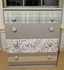Bedroom Furniture Edinburgh Reduced Vintage Upcycled Chest Of Drawers Bedroom Furniture