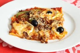 cuisiner poivron recette de pizza boeuf haché poivrons et 4 fromages la recette