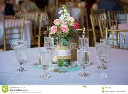table centerpieces for weddings wedding reception table centerpieces stock photo image 40027451