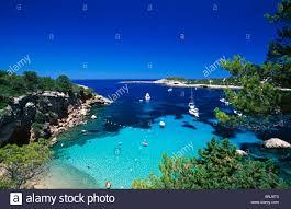 Spanish Mediterranean Ibiza Balearic Islands Spain Mediterranean Coast Island Isle