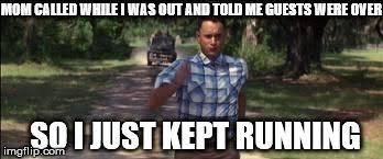 Run Forrest Run Meme - forest gump imgflip