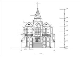 cathedrals and church 1 u2013 cad design free cad blocks drawings