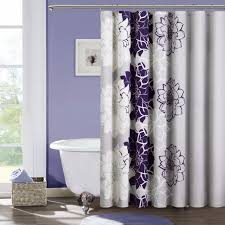 White And Purple Curtains Gorgeous Purple Wall Paint Color For Bathroom Design With Cute