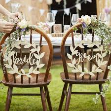 and groom chair wooden groom chair signs rustic country